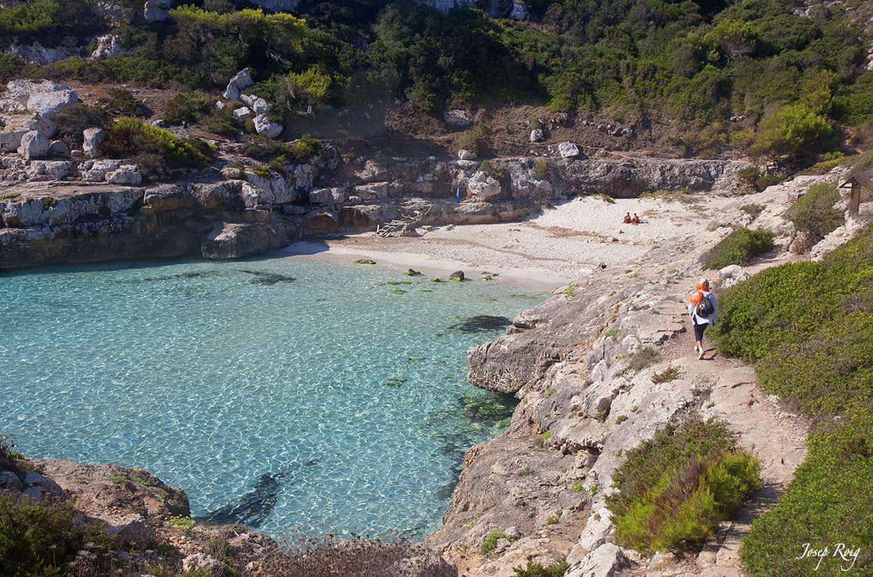 Exkursion nach Cala Marmols