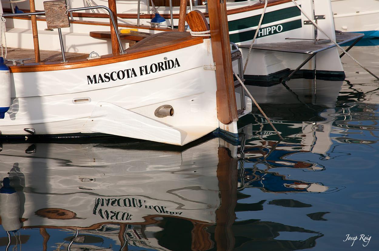 Barco del Puerto de la Colonia de Sant Jordi